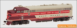 Rock Island FP7 with DCC and Sound HO scale InterMountain Railway Company