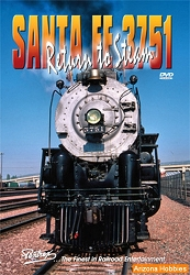 Santa Fe Railway 3751: Return to Steam DVD