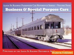 Santa Fe Railway Business and Special Purpose Cars