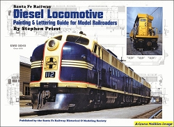 Santa Fe Railway Diesel Locomotive Painting and Lettering Guide