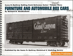 Santa Fe Railway Furniture and Automobile Box Cars
