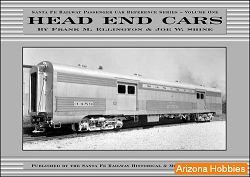 Santa Fe Railway Head End Cars