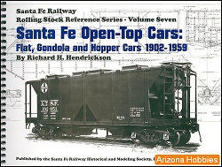 Santa Fe Railway Open-Top Cars: Flat, Gondola and Hopper Cars 1902-1959
