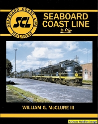 Seaboard Coast Line In Color