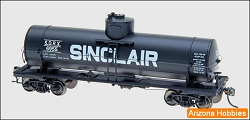 SINCLAIR HO Scale 10000 Gallon Welded Tank Car