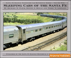 Sleeping Cars of the Santa Fe Railway