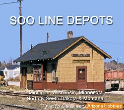 Soo Line Depots Photo CD Book