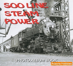 Soo Line Steam Power Photo Album CD Book