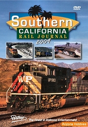 Southern California Rail Journal 2009 DVD