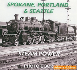 Spokane, Portland & Seattle Steam Power Photo CD Book