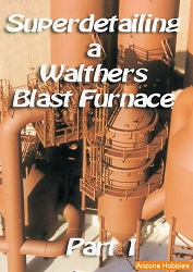 Superdetailing a Walthers Blast Furnace: Part 1 DVD plus Photo CD Book