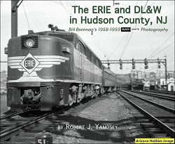 The Erie and DL&W in Hudson County, New Jersey