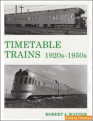 Timetable Trains: 1920s-1950s