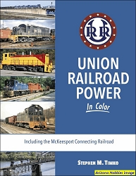 Union Railroad Power In Color: Including the McKeesport Connecting Railroad