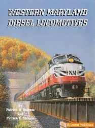 Western Maryland Diesel Locomotives