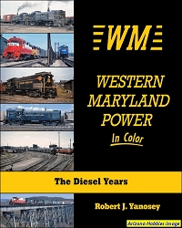 Western Maryland Power In Color: The Diesel Years
