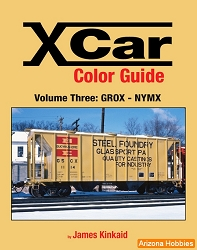 X Car Color Guide Vol. 3: GROX-NYMX