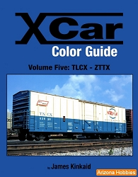 X Car Color Guide Vol. 5: TLCX-ZTTX