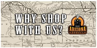 Why shop with Arizona Hobbies