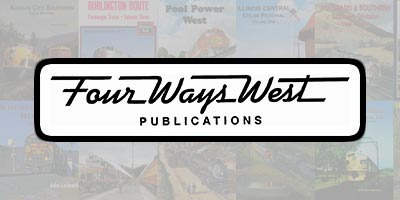 Four Ways West Railroad Books